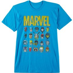 Mad Engine Mens Marvel Classic Face T-Shirt