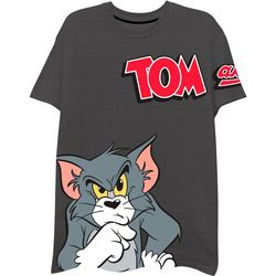 Tom & Jerry Mens Characters Short Sleeve T-Shirt