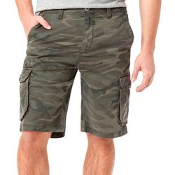 Unionbay Mens Chester Camo Cargo Shorts