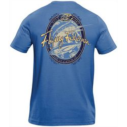 Flying Fisherman Mens Beer Label Tee