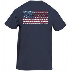 Flying Fisherman Mens Flag Tee