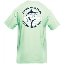 Flying Fisherman Mens Marlin Sunset Tee