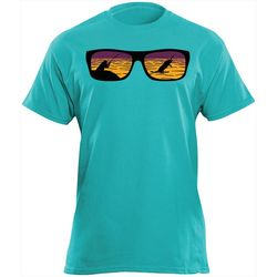 Flying Fisherman Mens Shades Tee