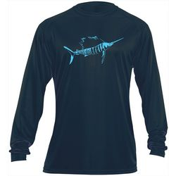 Flying Fisherman Mens Sailfish Performance Tee