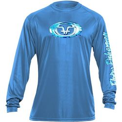 Flying Fisherman Mens Water Logo Performance Tee