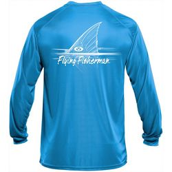 Flying Fisherman Mens Redfish Performance Tee