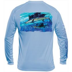 Flying Fisherman Mens Pasta Sailfish Performance Tee