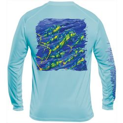 Flying Fisherman Mens Pasta Mahi Performance Tee