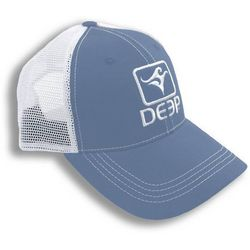 Deep Ocean Mens Carolina Blue Trucker Hat