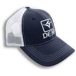 Deep Ocean Mens Blue Trucker Hat