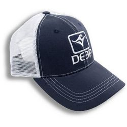 Deep Ocean Mens Blue Trucker Hat