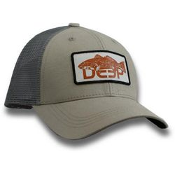 Deep Ocean Mens Redfish Trucker Hat