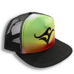 Deep Ocean Mens Rasta Trucker Hat
