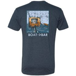 Deep Ocean Mens Boat 2 Bar Bribing Bluefin T-Shirt