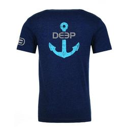 Deep Ocean Mens Anchor T-Shirt