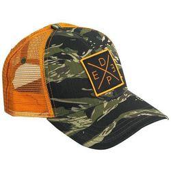 Deep Ocean Mens Tiger Camo X Trucker Hat