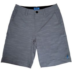 Deep Ocean Mens Boat 2 Bar Solid Boardshorts