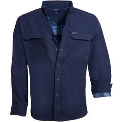 Smith's Workwear Mens Long Sleeve Flannel Lined Work Shirt