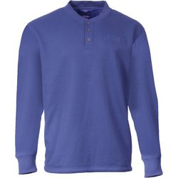 Smith's Workwear Mens Long Sleeve Sherpa Henley Shirt