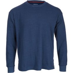 Smith's Workwear Mens Long Sleeve Thermal Heather Sweater