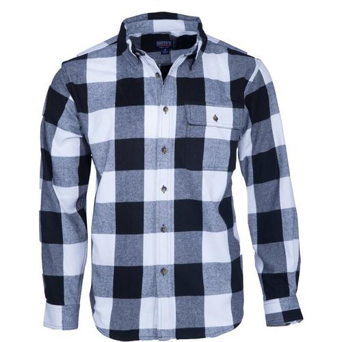 a5880201 Smith's Workwear Mens Long Sleeve Buffalo Plaid Shirt | Bealls Florida