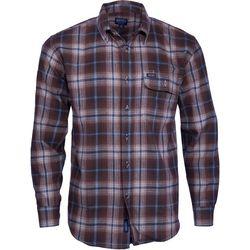 Smith's Workwear Mens Long Sleeve Plaid Pocket Shirt