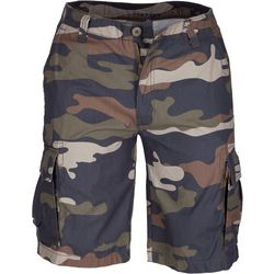 Smith's Workwear Mens Camo Soft-Feel Twill Cargo Shorts