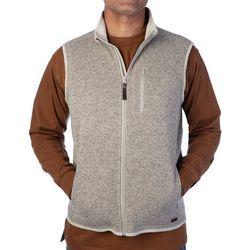Smith's Workwear Mens Full Zip Sweater Fleece Vest