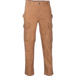 Smith's Workwear Mens Duck Canvas Gusset Cargo Pants
