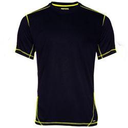 Smith's Workwear Mens Black Contrast Stitch T-Shirt