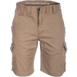 Smith's Workwear Mens Stretch Duck Canvas Cargo Shorts