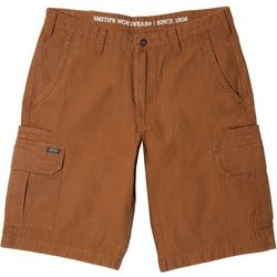 Smith's Workwear Mens Duck Canvas Cargo Shorts