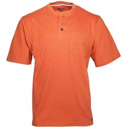 Smith's Workwear Mens Gusset Henley T-Shirt