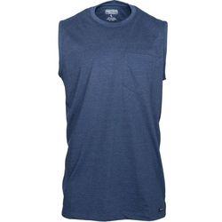 Smith's Workwear Mens Longline Muscle Heather Tank Top