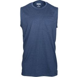 Smith's Workwear Mens Longline Muscle Heather Tank Top