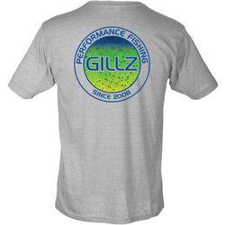GILLZ Mens Mahi Scales Circle T-Shirt