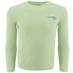 Reel Life Mens Rip Tide Mahi Long Sleeve T-Shirt