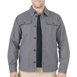Mountain and Isles Mens Flannel Lined Shirt Jacket