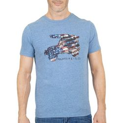 Mountain and Isles Mens Americana Jeep Graphic Tee