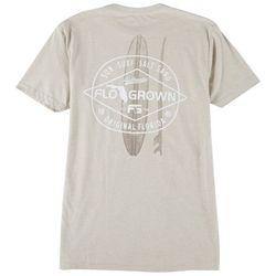 FloGrown Mens Surf Diamond T-Shirt