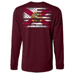 FloGrown Mens Flash Mash Long Sleeve T-Shirt