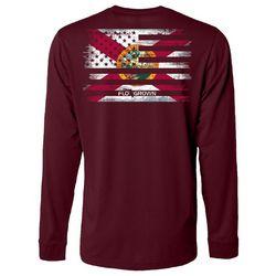 Mens Flash Mash Long Sleeve T-Shirt