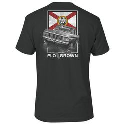 FloGrown Mens Swamp Truck Graphic T-Shirt