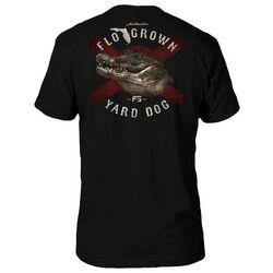 FloGrown Mens Yard Dog Graphic T-Shirt