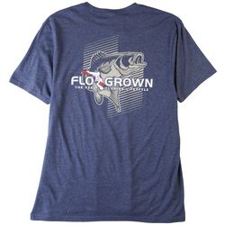 FloGrown Mens Bass Fade Out Heathered T-Shirt