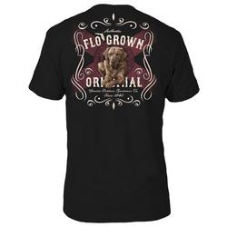 Mens Southern Label Dog Graphic T-Shirt