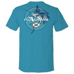 FloGrown Mens Saltwater Catch Graphic T-Shirt