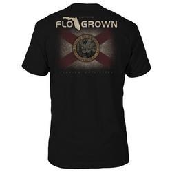 Mens Granite Flag Graphic T-Shirt