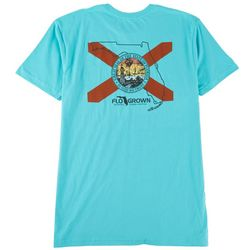 FloGrown Mens Intersect State Graphic T-Shirt