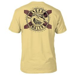 FloGrown Mens Anglers Heathered T-Shirt